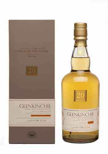 Glenkinchie 20 years The Edinburgh Malt